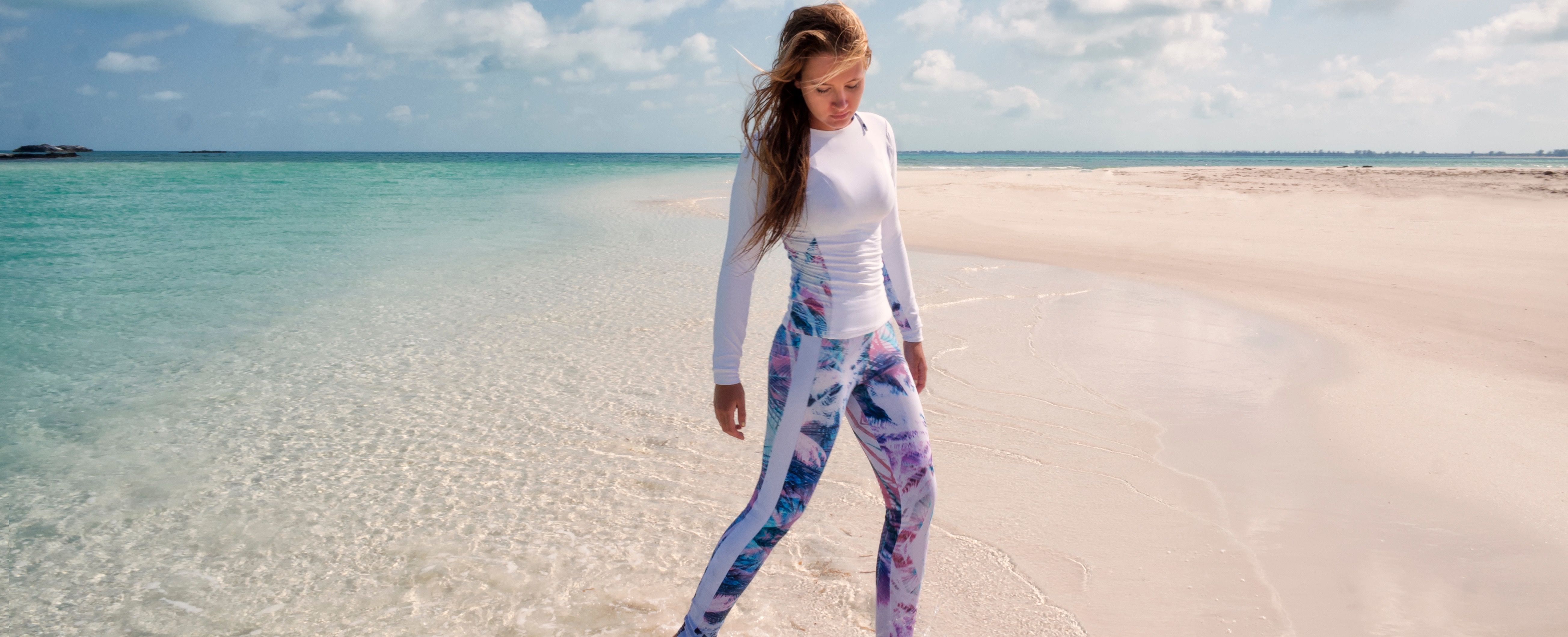 To Dive For dive/yoga leggings and rashie/sports top.